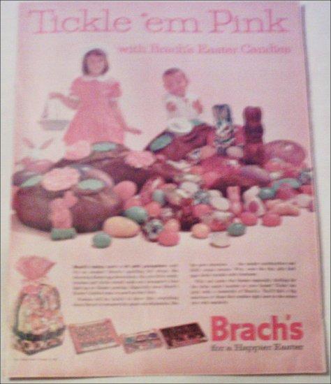 1962 Brachs Easter Candies ad