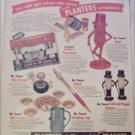 Planters Peanuts Collectibles ad
