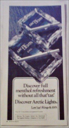 1980 Artic Lights 100's Cigarette ad