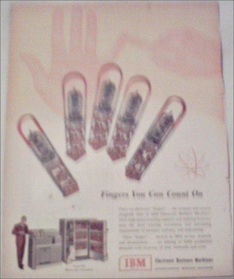 1952 IBM Business Machines ad #1