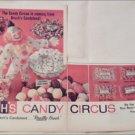 1965 Brachs Candy Circus ad