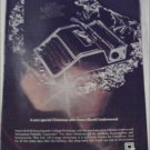 1968 Olivetti Underwood Portable Typewriter Christmas ad