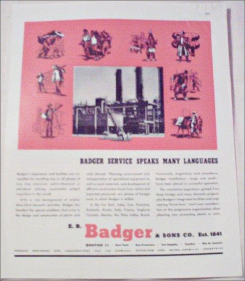 Badger & Sons Company ad #2