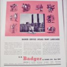 Badger & Sons Company ad #2