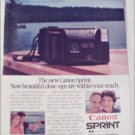 1985 Canon Sprint Camera ad