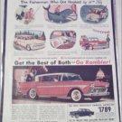 1958 American Motors Rambler 4 dr ht car ad