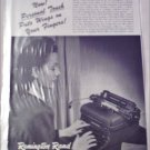 1946 Remington Rand Personal Touch Typewriter ad