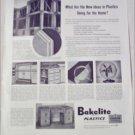 Bakelite Plastics New Ideas ad