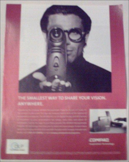 2001 Compaq MP2800 Microportable Projector ad