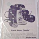 1962 Fairchild 8 mm Movie Camera