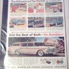 1958 American Motors Rambler Custom stationwagon car ad