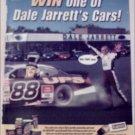 2001 Planters Peanuts Dale Jarretts Nascar Contest ad