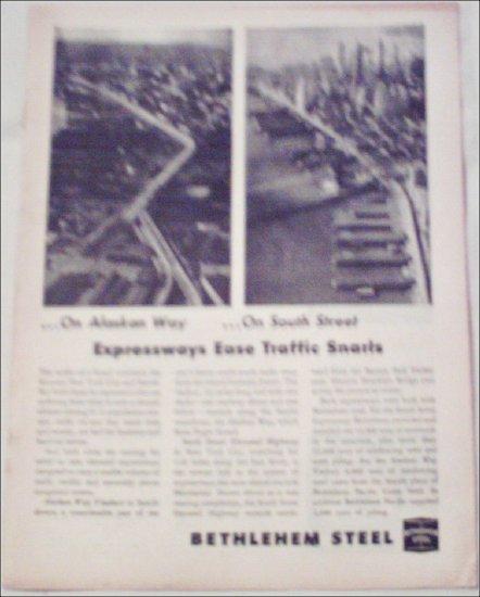 1954 Bethlehem Steel Expressways ad
