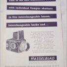 1957 Hasselblad 500 C Camera ad