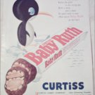 1955 Curtiss Baby Ruth Candy Bar ad