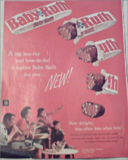 1960 Curtiss Baby Ruth New ad