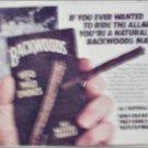 1983 Backwoods Smokes ad