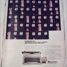 1967 Remington Ten Forty Portable Typewriter ad