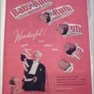 1962 Curtiss Baby Ruth Candy Bar Magician ad