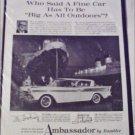 1959 American Motors Ambassador 4 dr ht car ad Ship