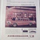 1960 American Motors Ambassador V-8 4 dr ht car ad pink