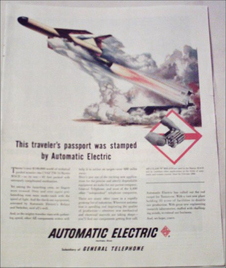 1958 Automatic Electric ad