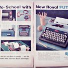 1959 Royal Futura Portable Typewriter ad