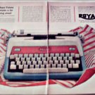 Royal Futura Portable Typewriter ad