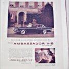 1960 American Motors Ambassador V-8 4 dr ht car ad black