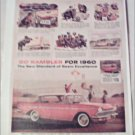 1960 American Motors Rambler Custom CC 4dr ht car ad