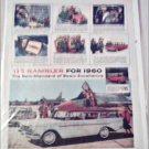 1960 American Motors Rambler Custom CC stationwagon car ad white