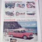 1960 American Motors Rambler Cross Country stationwagon car ad