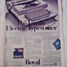 1969 Royal Family Electric Typewriter ad