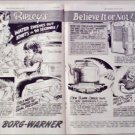 1948 Borg-Warner Ripleys Believe It or Not ad