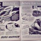 1953 Borg-Warner Ripleys Believe It or Not ad