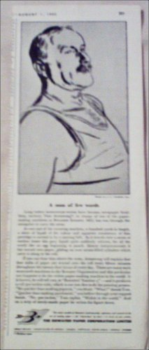 1952 Bowater Paper Corporation ad from the UK
