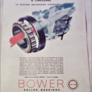 Bower Roller Bearings Company ad