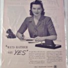 1944 Bell Telephone ad