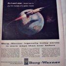 Borg-Warner Missile ad