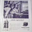 1946 Smith-Corona Typewriter ad