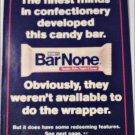 1994 Hershey's Bar None Candy Bar ad