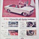 1961 American Motors Rambler Convertible car ad