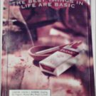 2000 Basic Cigarettes Ashtray ad