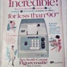 Smith-Corona Figurematic Adding Machine ad