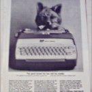 1964 Smith-Corona Electric Portable Typewriter ad