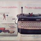 1967 Smith-Corona Electra 110 Electric Typewriter Christmas ad