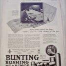 1923 Bunting Bushing Bearings ad