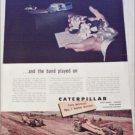 1953 Caterpillar Tractor Company ad