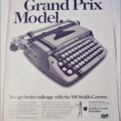 1968 Smith-Corona Classic 12 Portable Typewriter ad