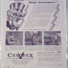 1942 Celotex Corporation ad